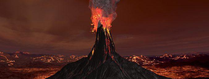 富士山溶岩サウナの溶岩イメージ写真